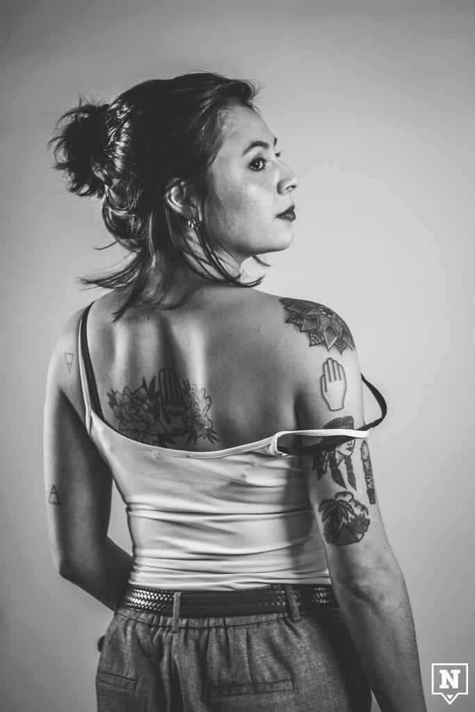 Tattoo Antwerps handje Veronica Prokopenka - Chocolade week Antwerpen